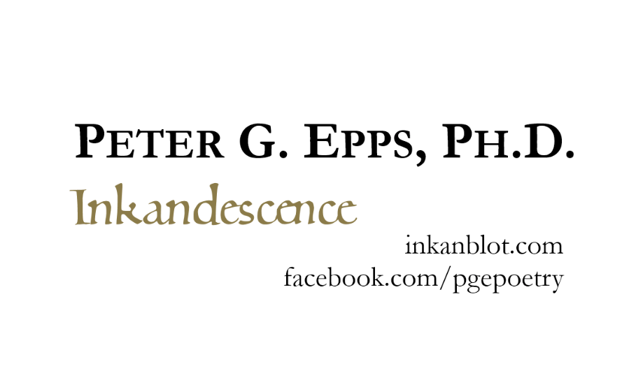 Busines Card for Peter G. Epps